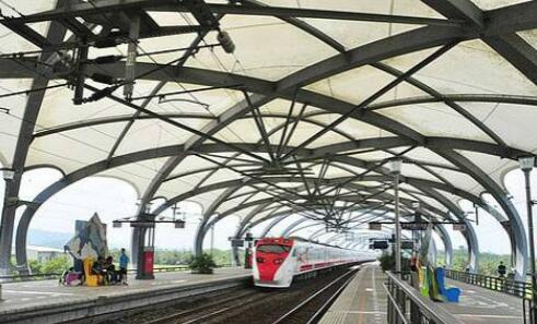 江苏膜结构厂家镇江膜结构车棚苏州张拉膜车棚南京火车站膜结构雨棚