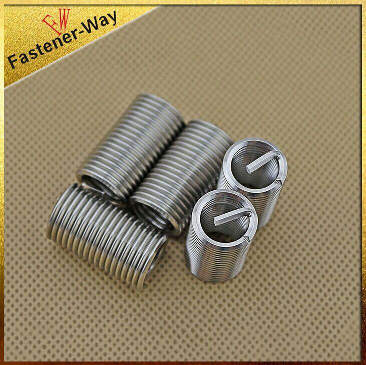 热销供应 不锈钢螺纹套 M系列螺丝护套 钢丝螺纹护套牙套M2*1.5D