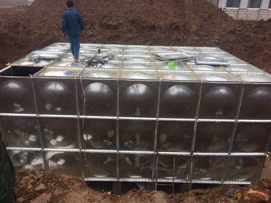 80度保温水箱结构图