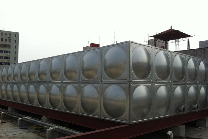 濮阳不锈钢消防水箱地埋式水箱圆形水箱
