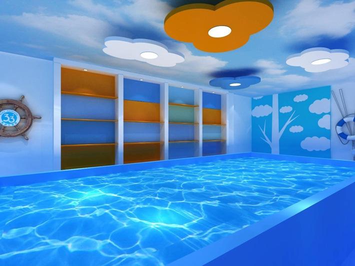 郑州婴儿游泳馆装修设计公司,河南郑州婴幼儿拥有中心