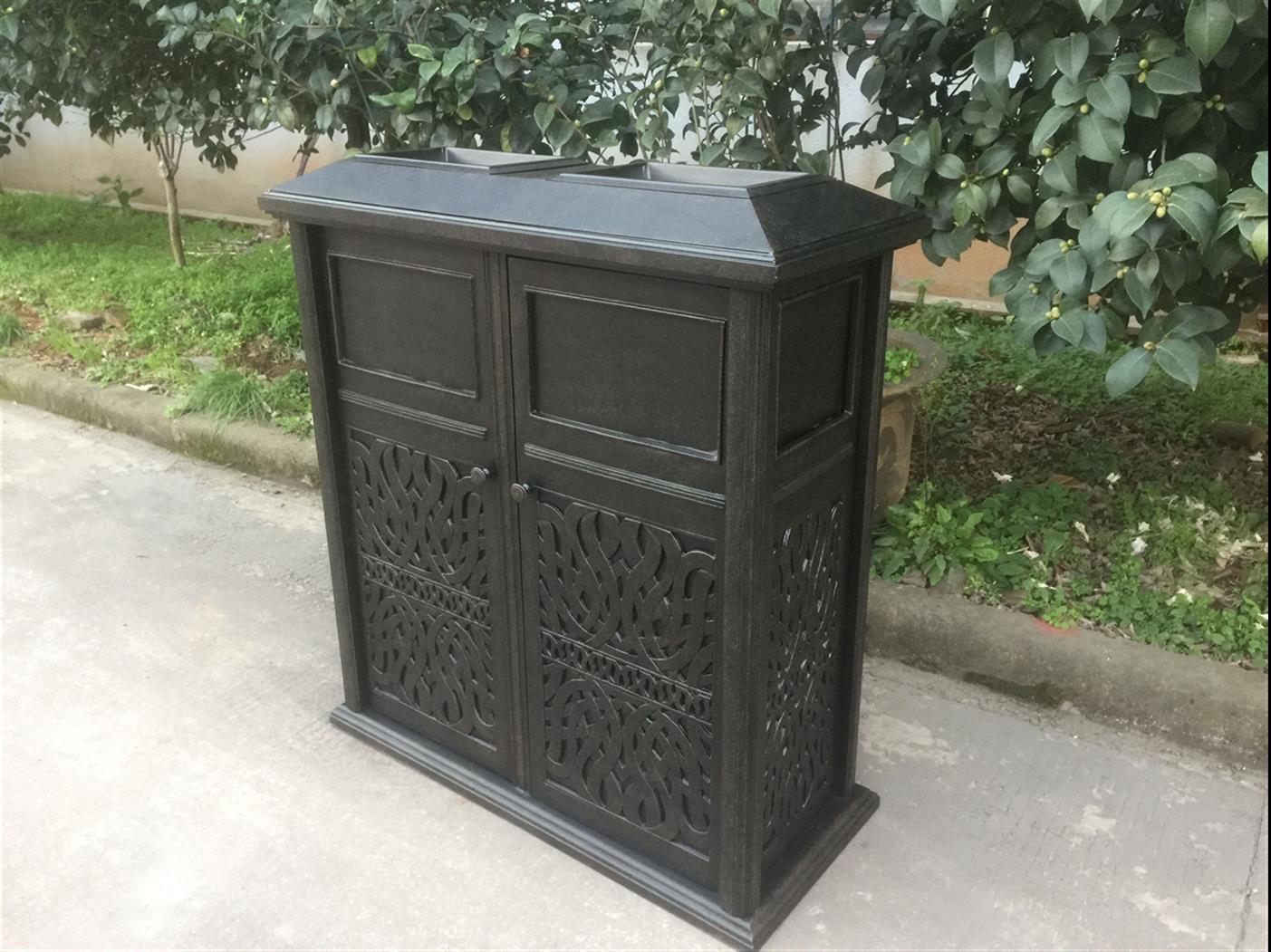 铝制垃圾桶定制-铝制垃圾桶