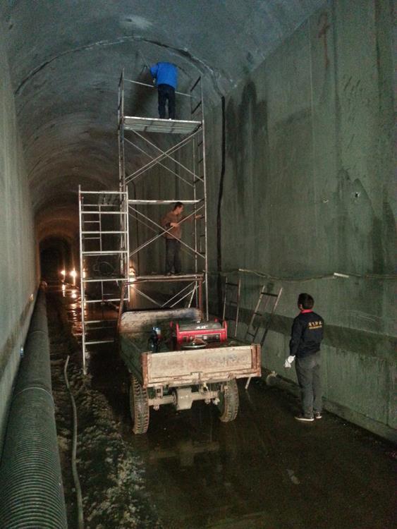 甘南地下隧道防水堵漏施工