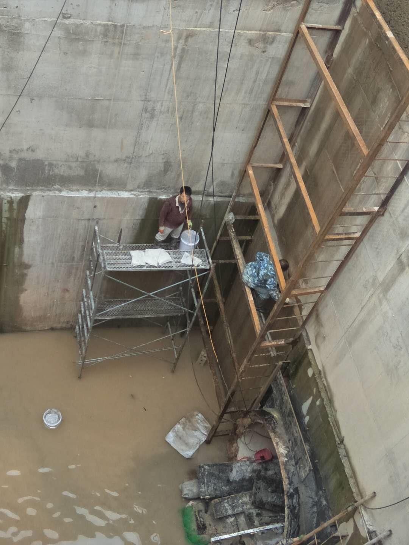 海西顶管井防水堵漏方案