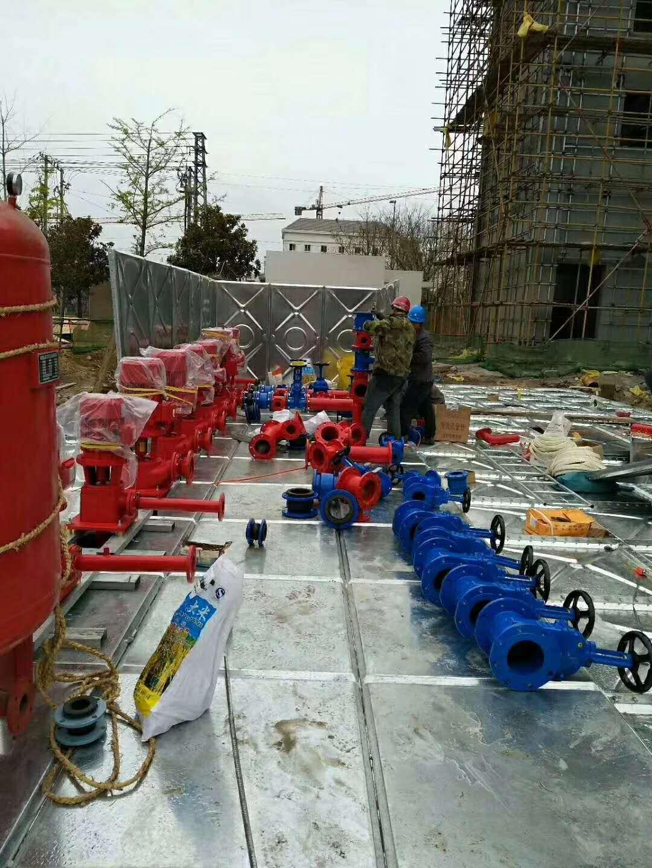 山东供给不锈钢保温水箱消防水箱箱泵一体化装备天埋式水箱