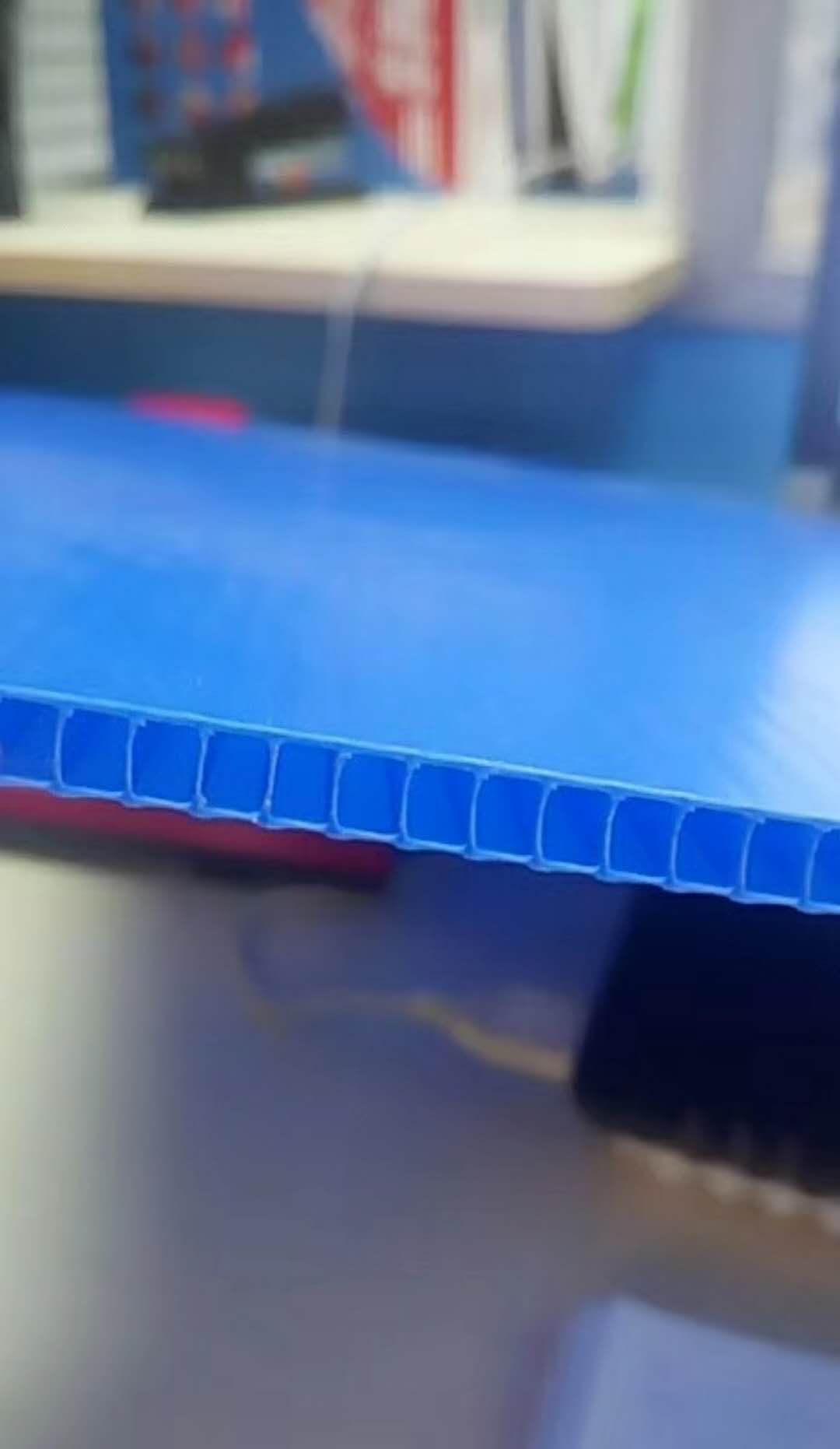江门中空板钙塑箱订制厂家 供应蓝色5MM中空板价格合理