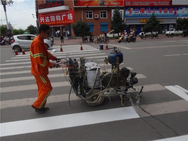 中牟县道路热熔划线公司
