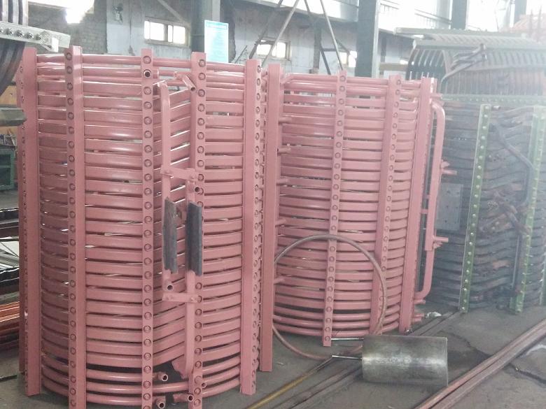 沈阳市电炉厂家生产中频炉线圈,中频炉感应圈