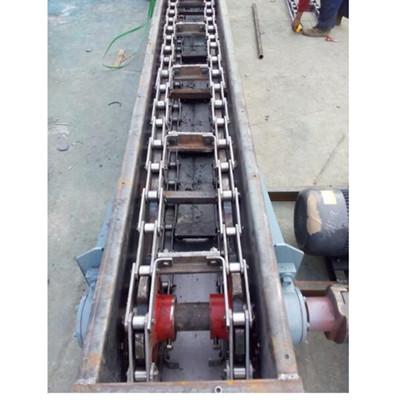 威海刮板输送机图纸 变频调速煤粉输送机