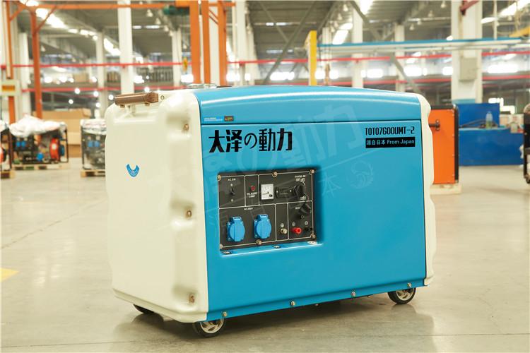 6千瓦柴油发电机图片