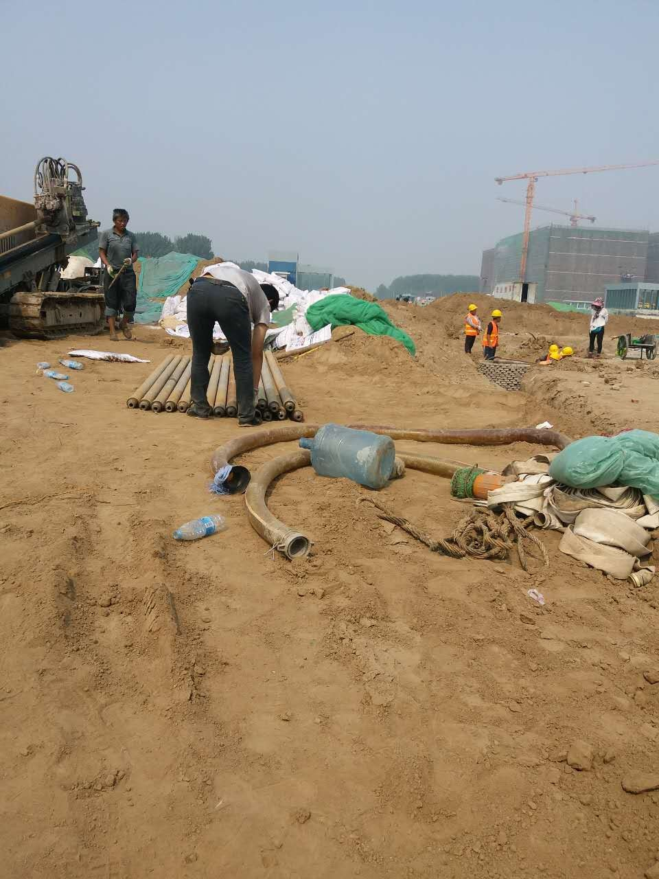 定西市渭源县非开挖定向钻施工