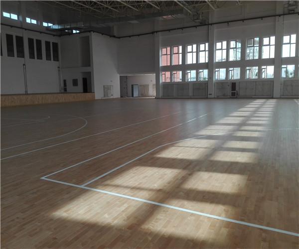 永州室内体育馆地板施工计划 室内体育馆地板生产厂家