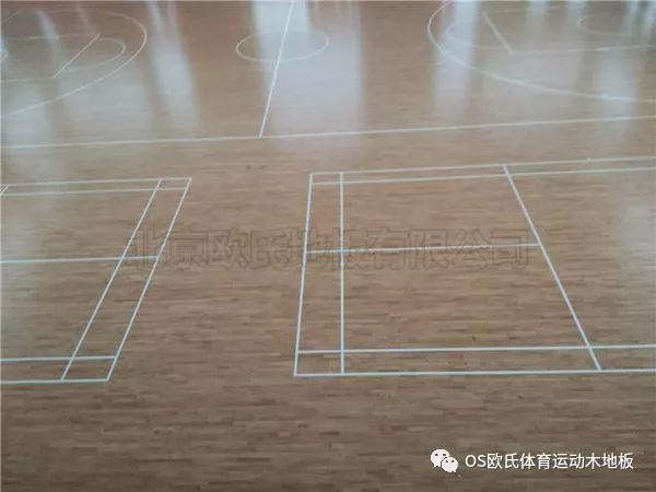 钦州实木篮球地板多少钱一平米,厂家