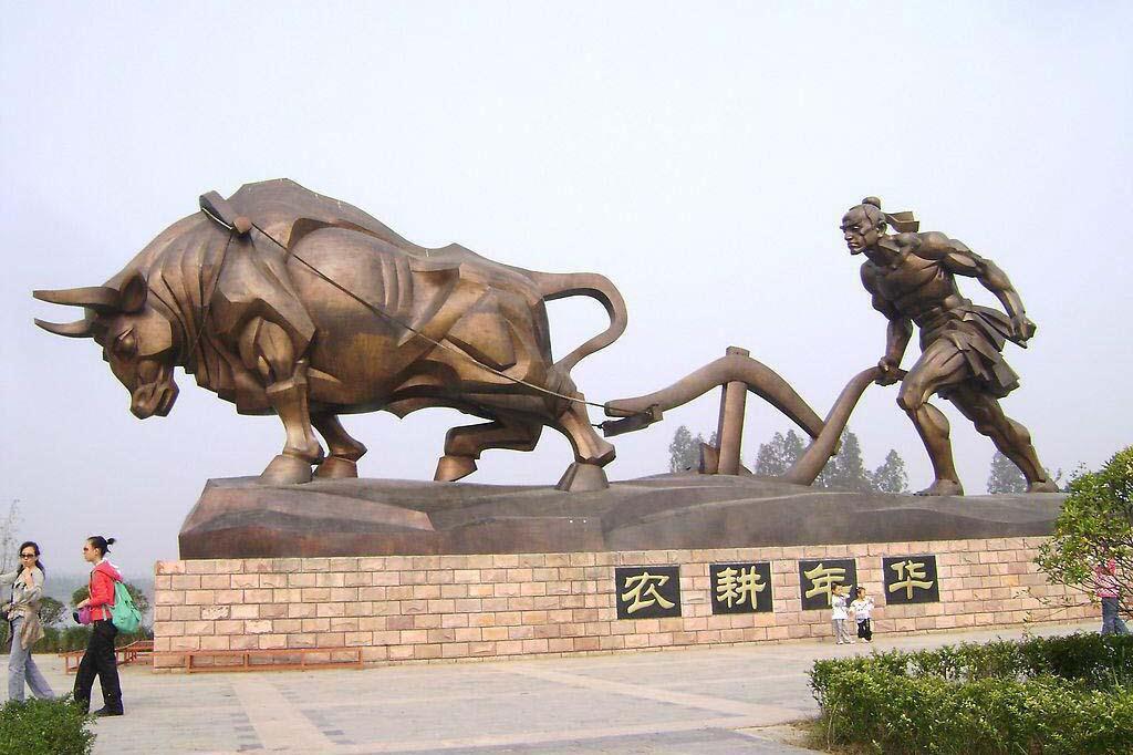 江门铸铜雕塑