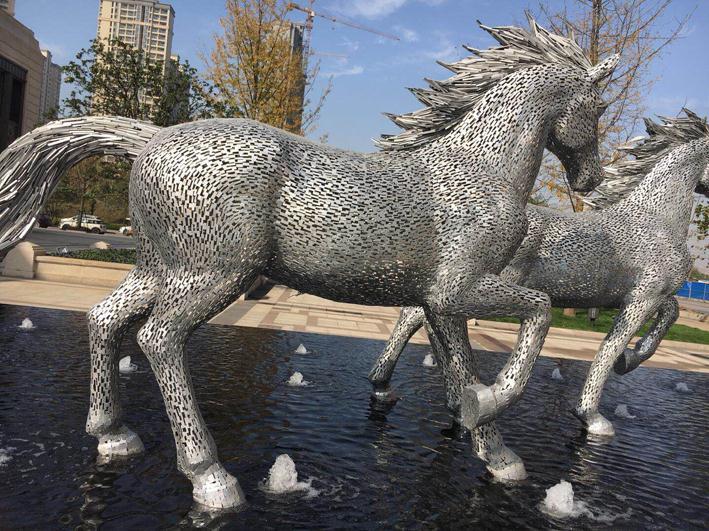 宜春广场不锈钢雕塑