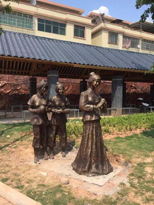 河源人物铜雕厂