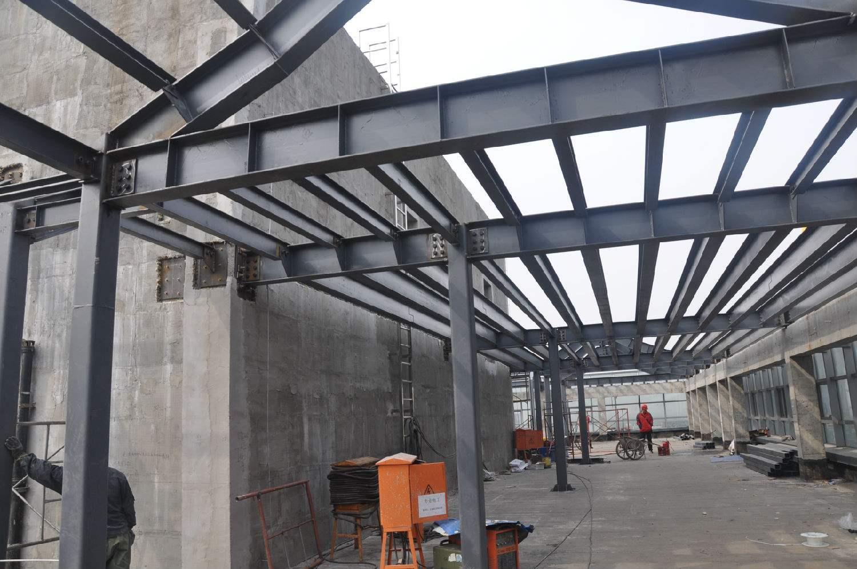 丽水钢结构连廊