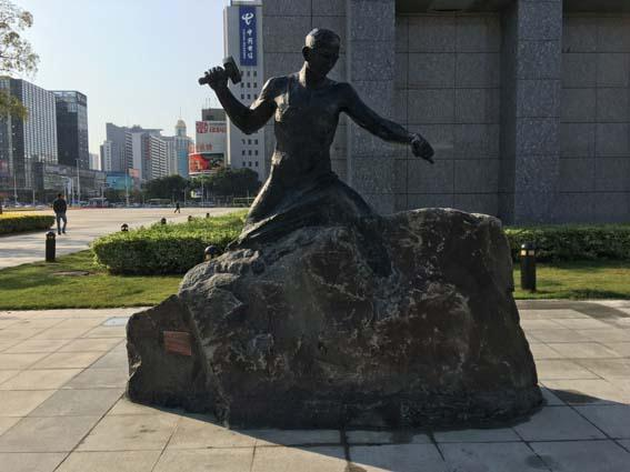 防城港肖像雕塑