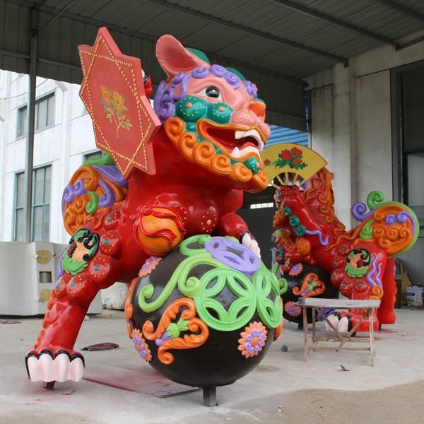 福州玻璃钢动漫雕塑