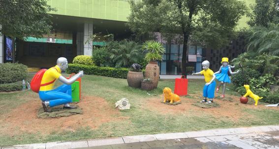 惠州玻璃钢雕塑报价