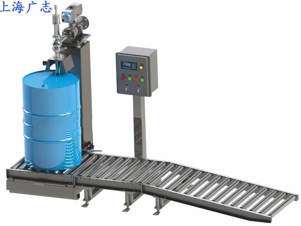 专业定做200公斤方桶自动灌装机