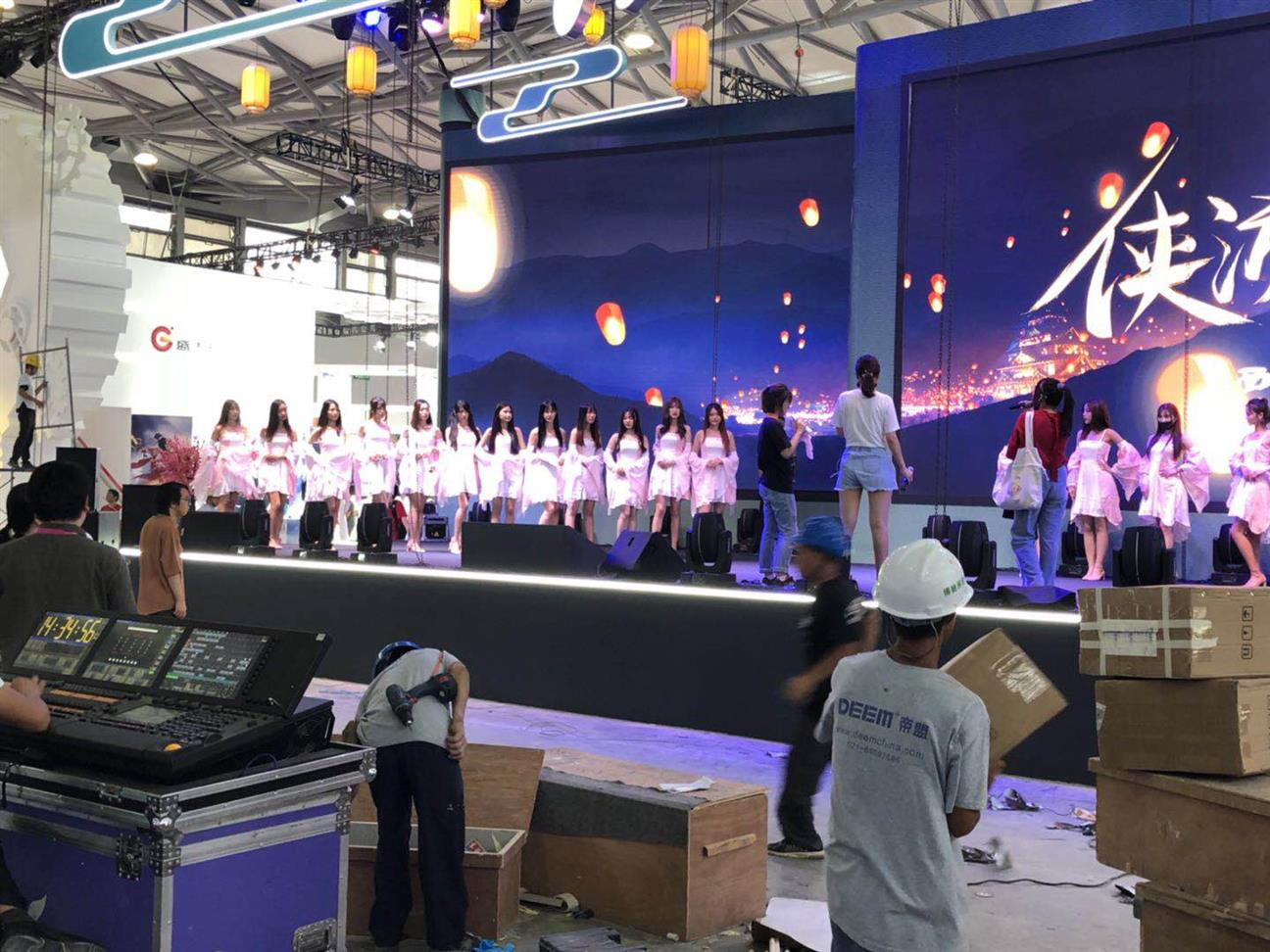 安徽P3屏幕灯光音响