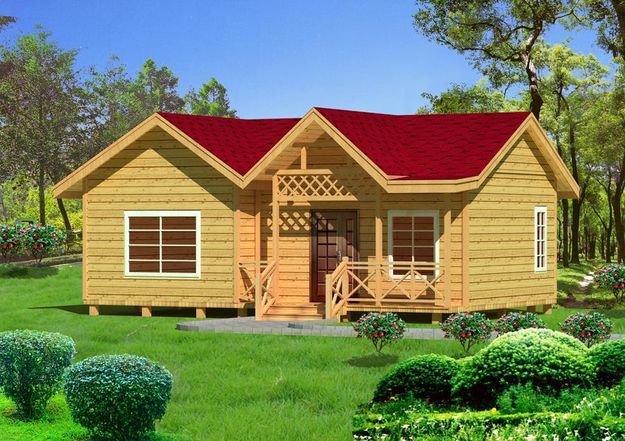 青海木屋别墅设计
