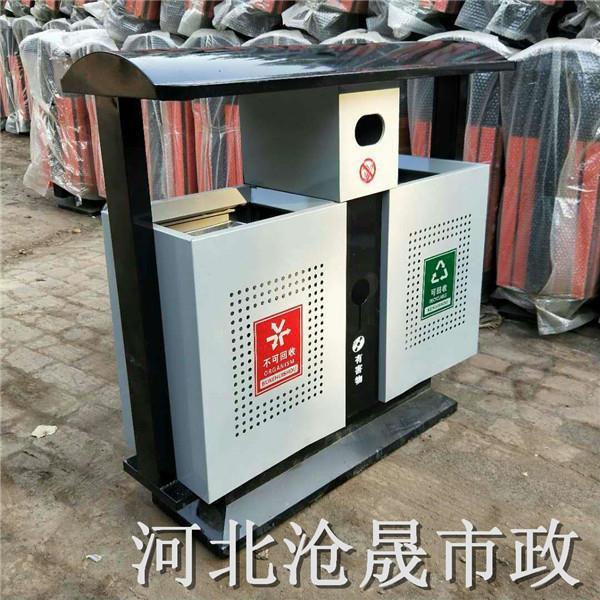 锡林郭勒盟户外垃圾桶冲孔垃圾桶
