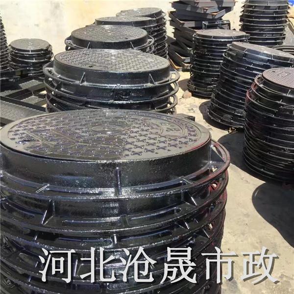 菏泽铸铁井盖|球墨铸铁雨水篦子