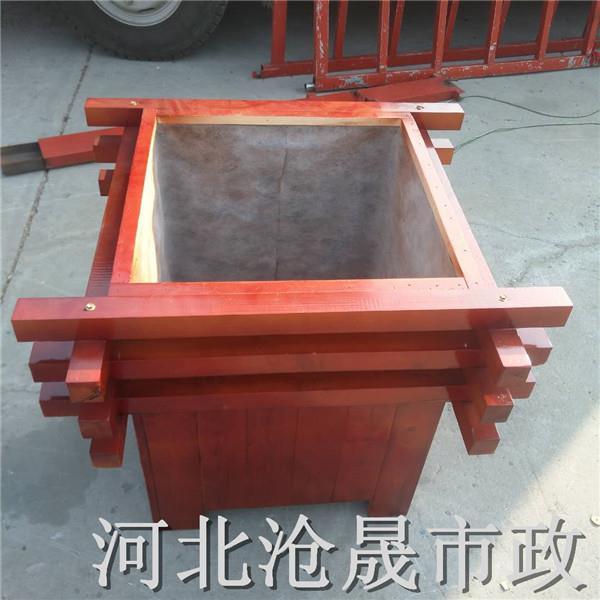 北京花箱北京木质花箱