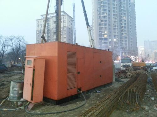 乌兰察布发电机出租公司价格