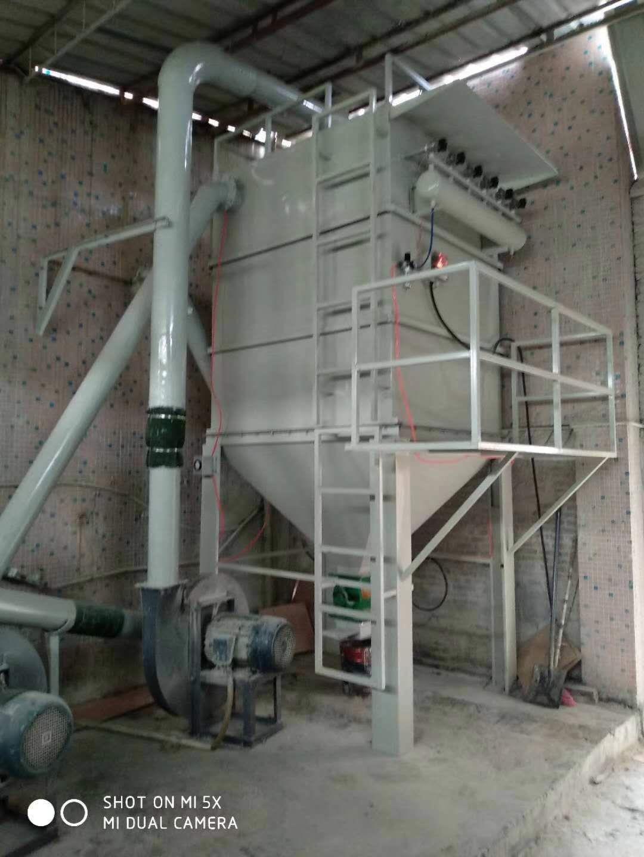 阳江脉冲布袋除尘器粉尘收集系统
