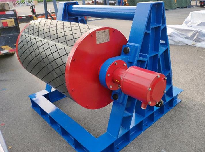 矿用隔爆型永磁变频电动滚筒