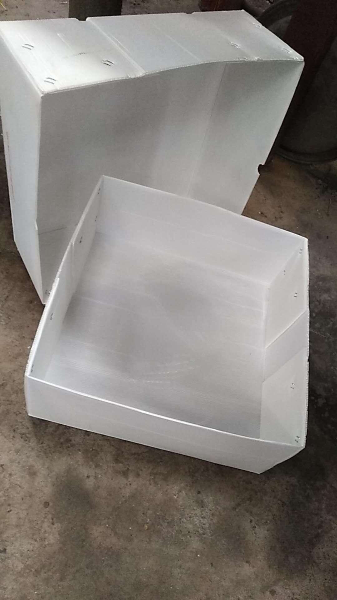 中山纸箱型塑料折叠周转箱