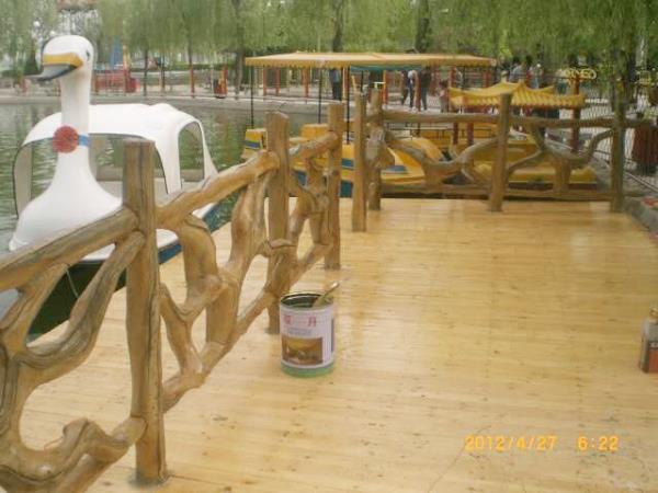 供应仿木栏杆品牌