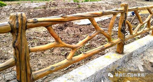 供应仿木栏杆