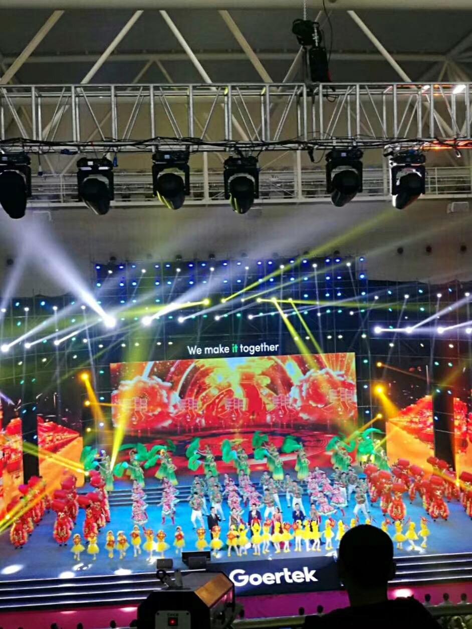 上海演唱会P2显示屏安装