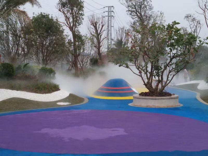 噴霧造景工程