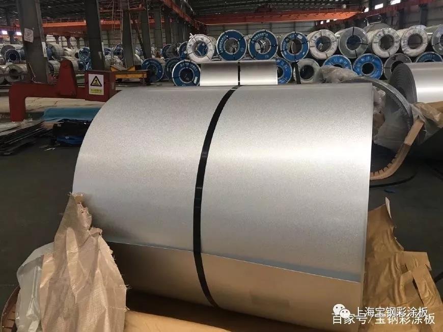 YX51-380-760型宝钢黄石镀铝锌彩涂板