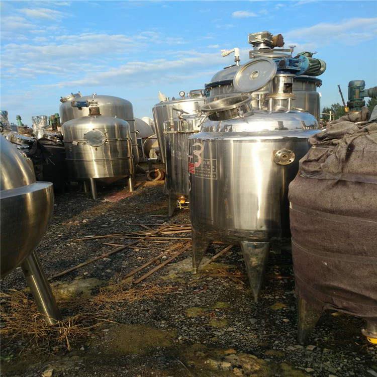 海口常年出售二手不锈钢储罐