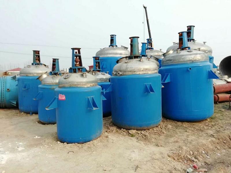 黑龙江出售二手不锈钢反应釜