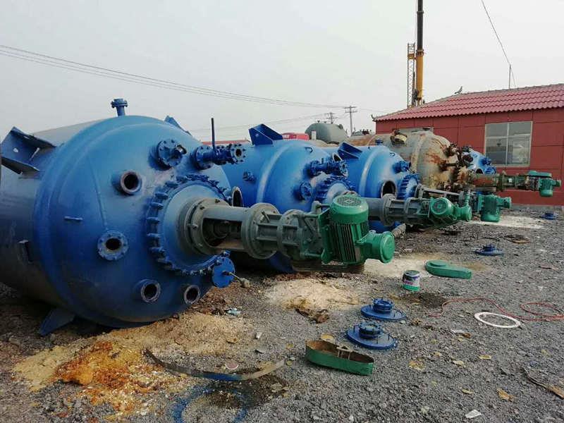 武汉长期出售二手不锈钢反应釜