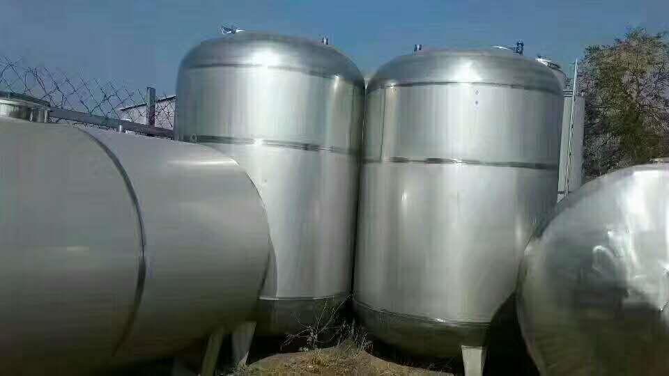 武汉长期供应二手不锈钢储存罐