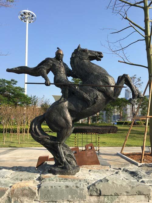 福建城市铜雕