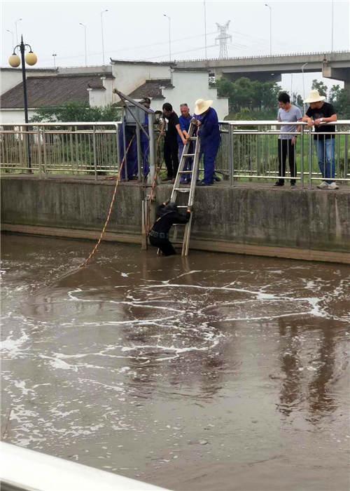 肇庆市水下堵漏约定蛙人潜水