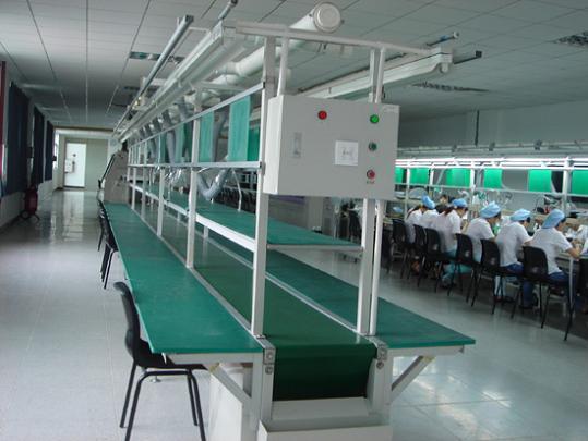 供應南京生產線皮帶線流水線