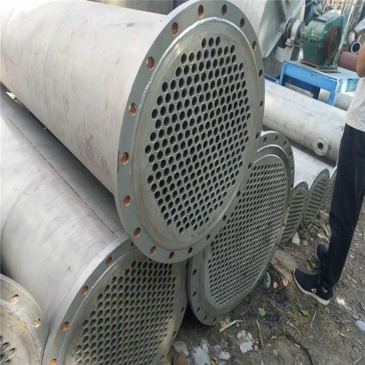 成都长期出售二手不锈钢冷凝器