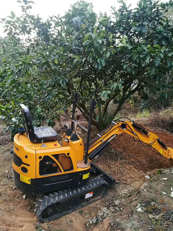 農用挖掘機 家用挖掘機 小挖溝機