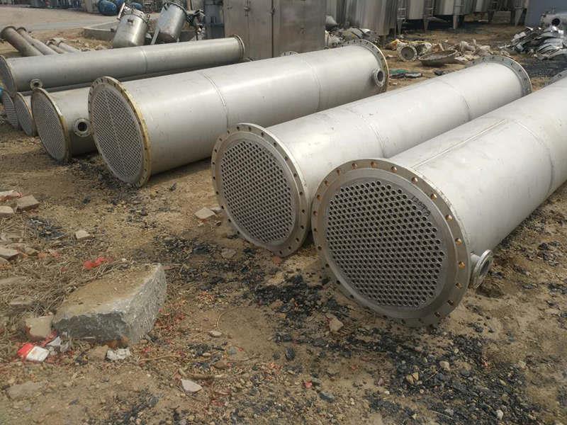 广西常年供应二手不锈钢冷凝器