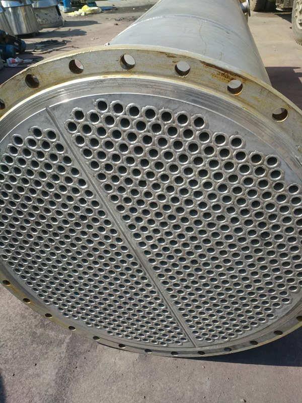 广西长期出售二手不锈钢冷凝器